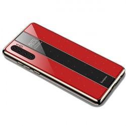 ETUI GLASS NA TELEFON HUAWEI P30 PRO CZERWONY