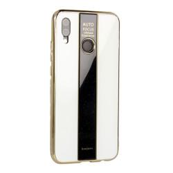 ETUI GLASS NA TELEFON HUAWEI P20 LITE BIAŁY