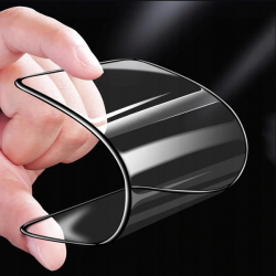 TEMPERERET BLACK GLASS 9D TIL TELEFON XIAOMI REDMI NOTE 7 PRO SORT